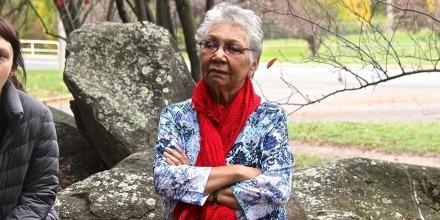 Traffic island breaks era of silence in Indigenous history