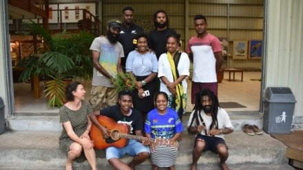 Vanuatu art exhibition showcases resilience in the face of climate change
